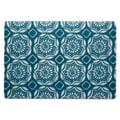 TAG Beach Dahlia Placemat (Set of 12); Blue