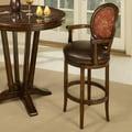 Pastel Furniture Naples Bay 30'' Swivel Bar Stool; KG Verona