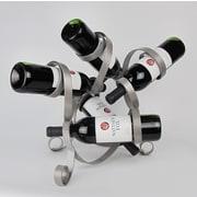 Metrotex Designs 5 Bottle Tabletop Sculpture Wine Rack