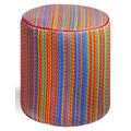 Fab Rugs World Cancun Pouf; Multi