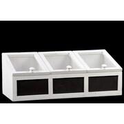 Urban Trends Wooden Storage Box; White