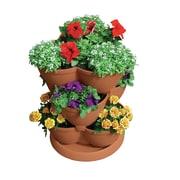 Akro-Mils Lawn & Garden Novelty Pot Planter; Brick