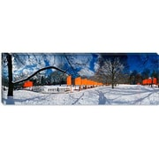 iCanvas Panoramic The Gates, Central Park, New York City Photographic Print on Canvas