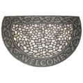 J&M Home Fashions Welcome Pebbles Doormat