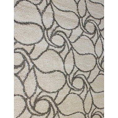 Dynamic Rugs Passion Cream Floral Rug; 7'10'' x 10'10''