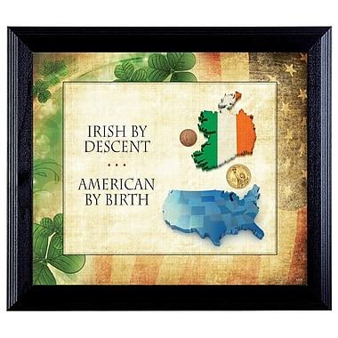 American Coin Treasure Irish By Descent Framed Memorabilia