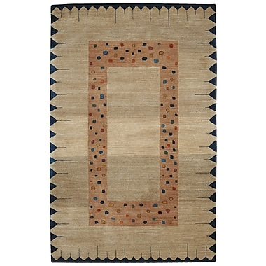 Nourison Desert Dawn Brown Area Rug