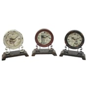 Aspire Adalia 3 Piece Table Clock Set