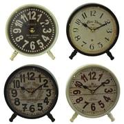 Aspire Morgan 4 Piece Table Clock Set