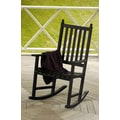 ACHLA Eucalyptus Rocking Chair; Black