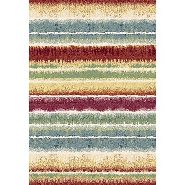 Dynamic Rugs Infinity Striped Area Rug; 3'11'' x 5'7''