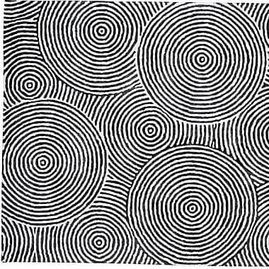 Dynamic Rugs Celeste Black / White Geometric Rug; 8' x 11'