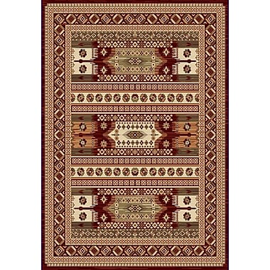 Dynamic Rugs Nain Red Area Rug; 5'3'' x 7'7''