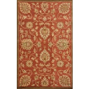 Dynamic Rugs Sapphire Copper Floral Area Rug; 3'6'' x 5'6''