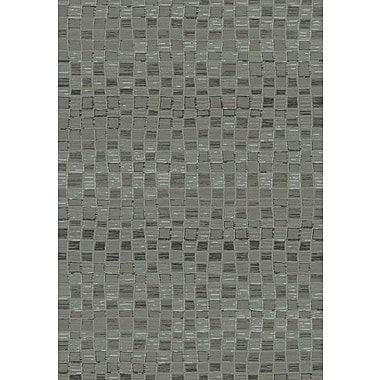 Dynamic Rugs Opus Grey Geometric Area Rug; 6'7'' x 9'6''