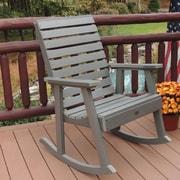 Highwood USA Weatherly Rocking Chair; Coastal Teak