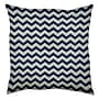 Wildon Home Outdoor / Indoor Accent Pillow; Cobalt