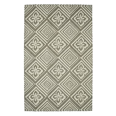 Dynamic Rugs Palace Silver Area Rug; 2' x 4'