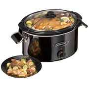 Hamilton Beach 7 Quart Slow Cooker; Black Ice