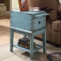 Coast to Coast Imports One Drawer Cabinet; Blue