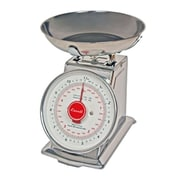 Escali Stainless Steel  Escali-DS21B Mercado, Dial Scale with Bowl, 2 lbs. / 1 Kg