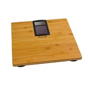 Escali Eco, Solar Powered Bamboo Bath scale, 400 Lb 180 Kg