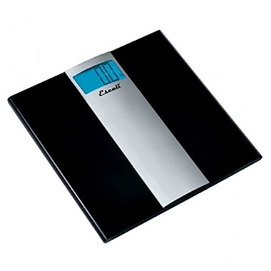 Escali Ultra Slim Bathroom Scale, 400 Lb 180 Kg