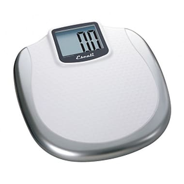 Escali Extra Large Display Bathroom Scale, 400 Lb 180 Kg