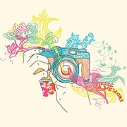 iCanvas 'Seize a Memory' by Budi Satria Kwan Graphic Art on Canvas; 12'' H x 12'' W x 1.5'' D