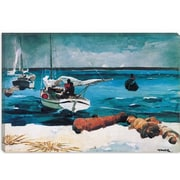 iCanvas Nassau 1899 by Winslow Homer Painting Print on Canvas; 8'' H x 12'' W x 0.75'' D