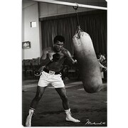 iCanvas Muhammad Ali Training Photographic Print on Canvas; 26'' H x 18'' W x 1.5'' D
