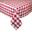 Design Imports Checker Table Cloth; 60'' W x 84'' D