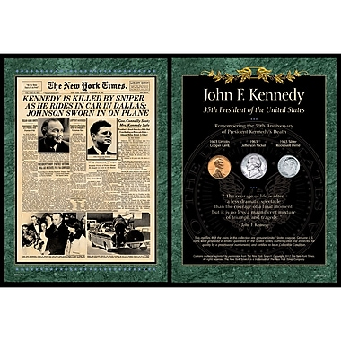 American Coin Treasure New York Times JFK Assassination Memorabilia