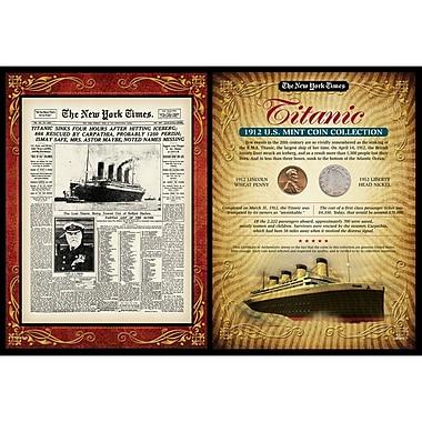 American Coin Treasure New York Times Titanic Portfolio Memorabilia