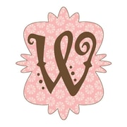 4 Walls Mod Monograms Letter A Wall Decal; W