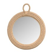 Jeffan Aspen Oval Mirror; Small