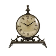 IMAX Eilard Iron Table Clock