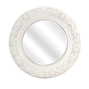 IMAX Merril Carved Round Mirror