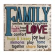 IMAX Love and Family Wall Decor