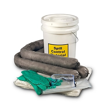 Evolution Sorbent Products Universal Absorbent Spill Kit, 5 Gallons