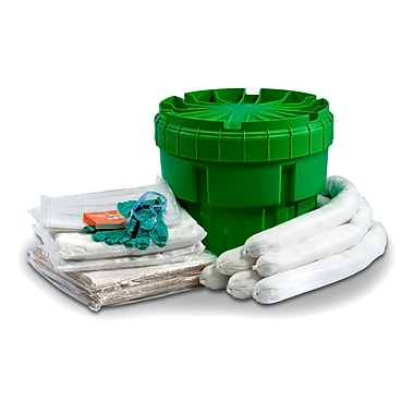 Evolution Sorbent Products Oil Only Absorbent Ecofriendly Spill Kit 20 Gallons