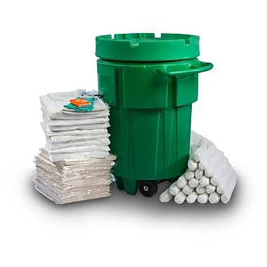 Evolution Sorbent Products Absorbent Wheeled Ecofriendly Spill Kit