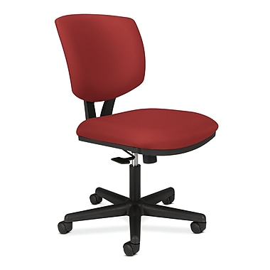 HON Volt Task Chair, Center-Tilt, Crimson Fabric
