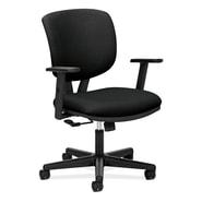 HON® Volt® 5700 Series 40in.H Fabric Mid Back Task Chair With Centre Tilt, Black