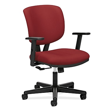 HON® Volt® 5700 Series 40in.H Fabric Mid Back Task Chair With Centre Tilt, Crimson