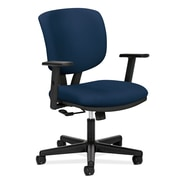 HON® Volt® 5700 Series 40in.H Fabric Mid Back Task Chair With Centre Tilt, Navy