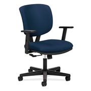 HON® Volt® 5700 Series 40H Fabric Mid Back Task Chair With Centre Tilt, Navy