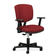 HON® Volt® 5700 Series 40in.H Fabric Mid Back Task Chair With Synchro Tilt, Crimson