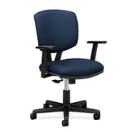 HON® Volt® 5700 Series 40in.H Fabric Mid Back Task Chair With Synchro Tilt, Navy