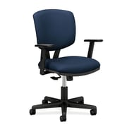 HON® HON5703AGA90 Volt® Fabric Office Chair with Adjustable Arms, Navy